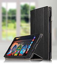 Чехол книжка для Lenovo P8 TAB3 8 Plus TB-8703 черный цвет