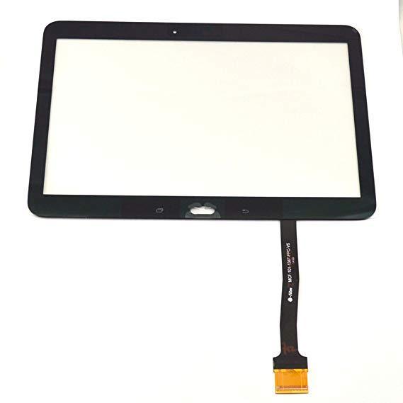 Сенсорний екран для смартфону Samsung T530 T531 Galaxy Tab 4, тачскрін чорний