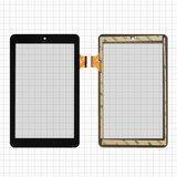 """Сенсорний екран для планшету Tablet PC 7"""", Assistant AP-708, тачскрін 182x112mm 36pin, ємнісний, чорний, TE-700-0045, FPC-UP070267A1-V01,"""