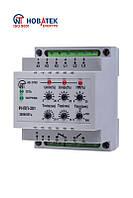 Реле напряжения NOVATEK-ELECTRO РНПП-301 трехфазное, с контролем фаз