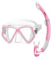 Набор Mares Pirate (маска + трубка) (Розовый)