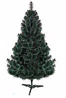 Искусственная сосна Карпатская  зелёная с белыми концами1м, фото 1