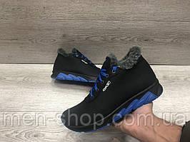 Зимние мужские ботинки на меху в стиле Reebok