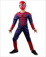 Дитячий костюм Людини-Павука з м'язами, фото 1
