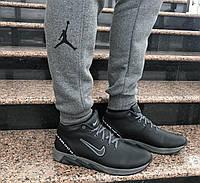 Зимние кожаные кроссовки в стиле Nike, фото 1