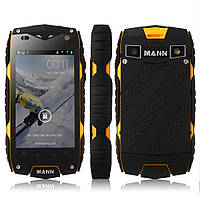 "Неубиваемый смартфон MANN ZUG 3 yellow желтый (2SIM) 4"" 1/8GB 1/8Мп 3G оригинал Гарантия!"