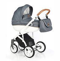 Детская универсальная коляска ROAN Bass Soft  2 в 1 Denim, голубой (8605)