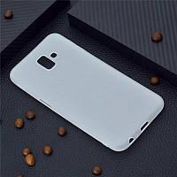Чехол для Samsung J610 / J6 Plus 2018 силикон soft touch бампер матовый