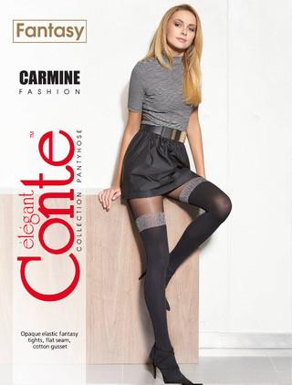 Фантазийные колготки Conte CARMINE 50