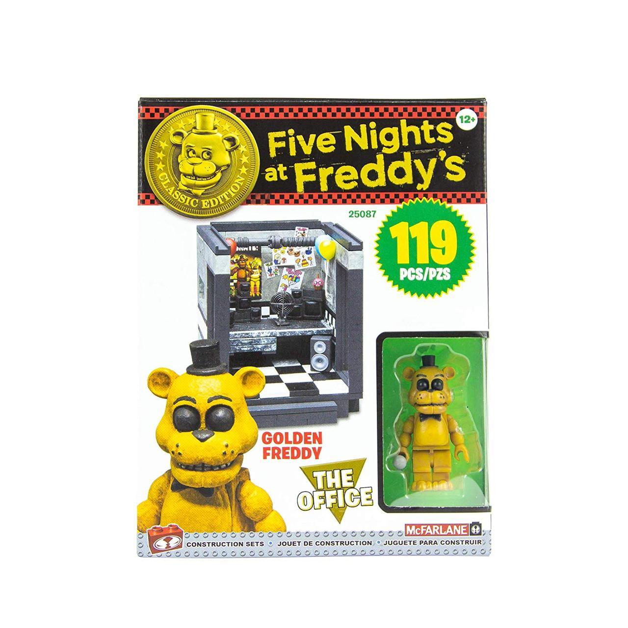 """Конструктор 5 ночей с Фредди McFarlane Toys Five Nights At Freddy's """"Голден Фредди в офисе"""""""