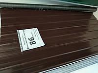 Профнастил вналичии. Супер цена. коричневый, 1500, 0.25