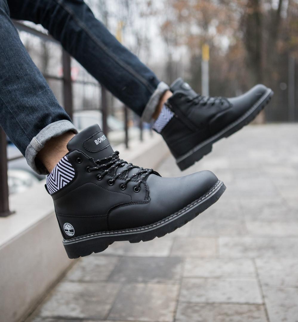 """Мужские ботинки без бренда """"Black"""""""