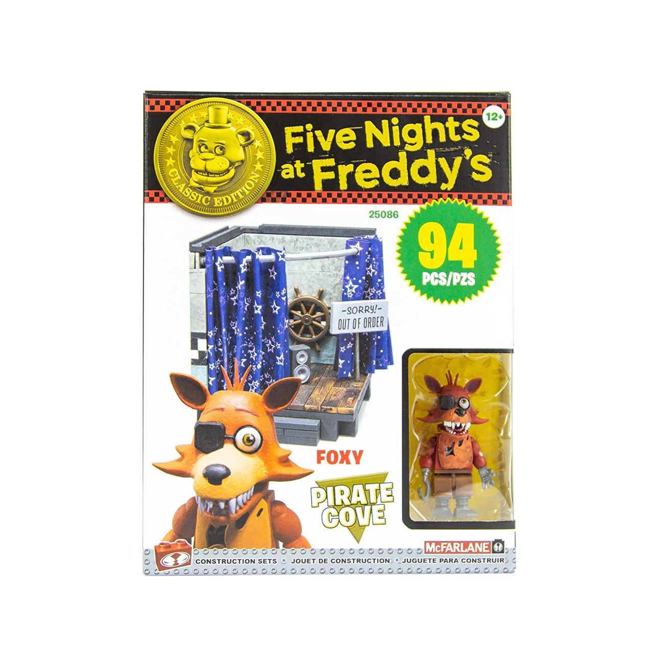 """Конструктор 5 ночей с Фредди McFarlane Toys Five Nights At Freddy's """"Пиратская бухта"""""""