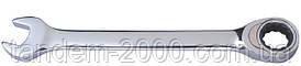 Ключ комбинированный 10мм с трещоткой      STANLEY 4-89-936