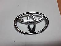 Значок емблему на капот, багажник Тойота Toyota 98*70 мм