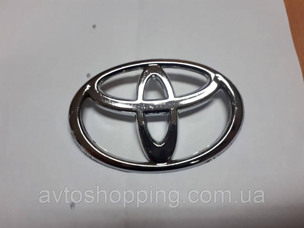 Значок эмблема на капот, багажник Тойота Toyota 98*70 мм
