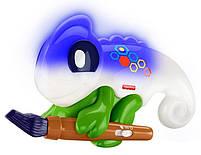 Интерактивная игрушка Fisher-Price Умный Хамелеон c технологией Smart Stages на русском языке  FCH23, фото 6