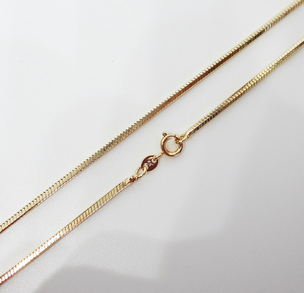 Цепочка плетение Ювелирный шнур 60 см. ширина 2 мм
