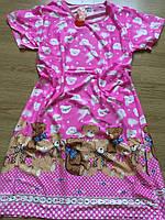 Туника молодежная, стильная ночная рубашка 44-48