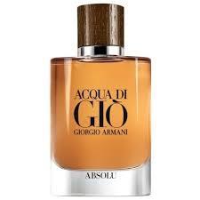 Мужская парфюмированная вода Giorgio Armani Acqa Di Gio Absolu , 125 мл