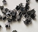 Кнопка тактова мікро(SMD) 6х6х5 мм 10 шт., фото 4