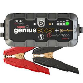 Пуско-зарядное устройство портативное NOCO Genius GB40 Boost Plus, 1000 А, 24 Вт/ч, гарантия 1 год