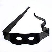 Мужская маска Зорро для карнавала