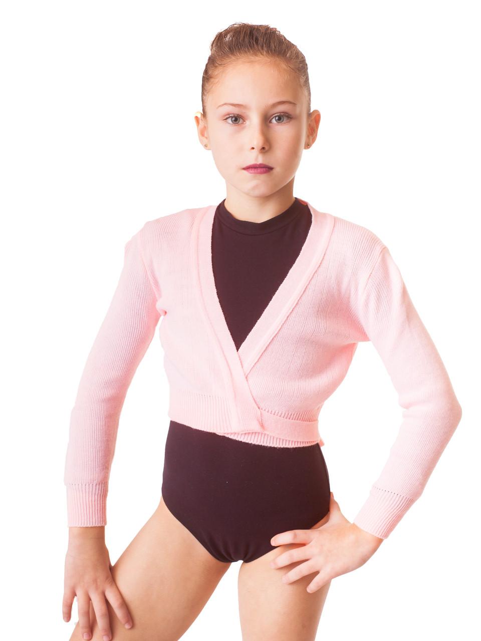 Детская разогревочная кофта Акрил Розовая
