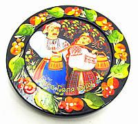 МД-01  Магніт герб Дніпра (золото) кругл.
