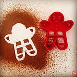 Новогодняя вырубка пряничный человечек от OogiMe, фото 2