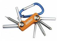 Ключ складной 8 инструментов Mini-8 ICE TOOLZ 98M1