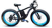 Электровелосипед LKS fatbike Синий 500 (20181116V-30)