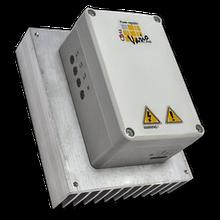 Регулятор мощности электрокалорифера VARIO 2V40, монтаж в воздуховод