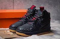 Зимние кроссовки Nike LF1 Duckboot, темно-синие (30923) размеры в наличии ► [  36 (последняя пара)  ](реплика)
