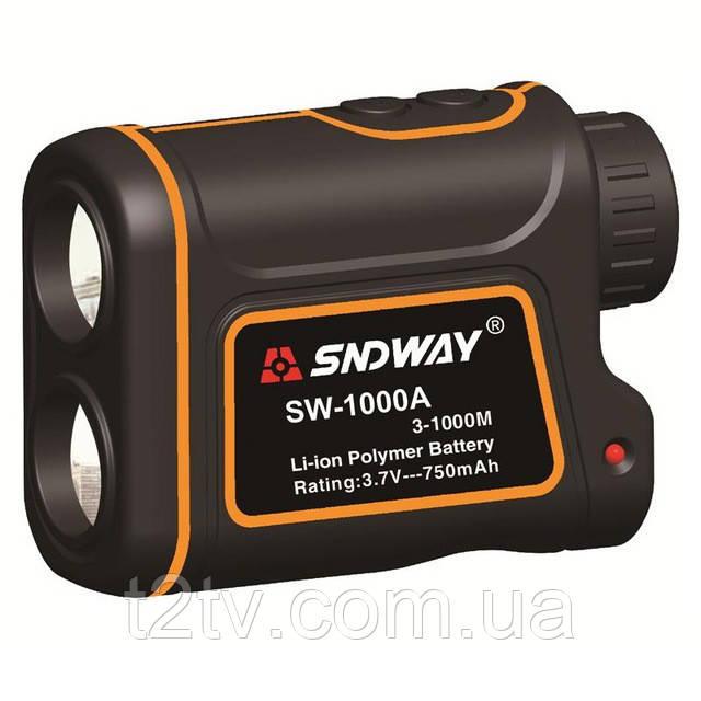 Лазерный дальномер спидометр SNDWAY SW-1000A 3-1000M 1000м Orange