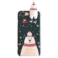 Чехолнакладка xCaseдляiPhone Xs MaxCHRISTMAS SNOWMAN