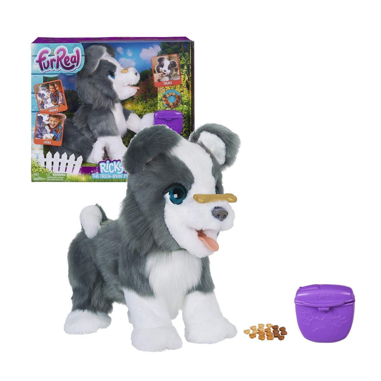 Интерактивный щенок, собака Рики, Ricky Trick FurReal Friends, Hasbro Оригинал из США