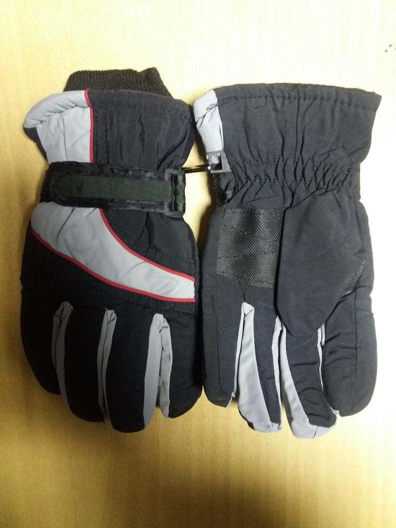 Детские  непромокаемые лыжные перчатки    8-10 лет