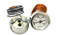 Термометр капиллярный 250°c, капилляр 1м Pakkens