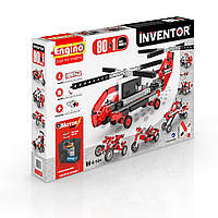 Конструктор серии INVENTOR MOTORIZED 90 в 1 с электродвигателем ТМ Engino 9030