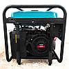 Бензиновый генератор 5.5 кВт 220 В, Rebir BEG 6000E, электрогенератор, бензогенератор, миниэлектростанция, фото 8
