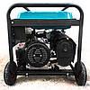 Бензиновый генератор 5.5 кВт 220 В, Rebir BEG 6000E, электрогенератор, бензогенератор, миниэлектростанция, фото 6