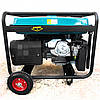 Бензиновый генератор 5.5 кВт 220 В, Rebir BEG 6000E, электрогенератор, бензогенератор, миниэлектростанция, фото 7