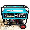 Бензиновый генератор 5.5 кВт 220 В, Rebir BEG 6000E, электрогенератор, бензогенератор, миниэлектростанция, фото 2