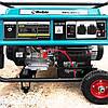 Бензиновый генератор 5.5 кВт 220 В, Rebir BEG 6000E, электрогенератор, бензогенератор, миниэлектростанция, фото 3