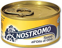 Тунец в оливковом масле Nostromo All'Olio di Oliva, 160 гр., фото 1