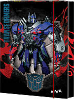 Папка картонная для труда на резинке KITE 2015 Transformers 213