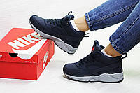 Подростковые кроссовки Nike Air Huarache хуарачи с мехом   кросівки найк (Топ  реплика ААА+ adbf3682d6b2f