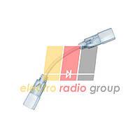 #51/3 Коннектор двосторонній для LED NEON 5mm+провід 2pin. 220V