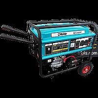 Бензогенератор однофазный 5.5 кВт, Rebir BEG 6000E, электрогенератор, бензиновый генератор, миниэлектростанция, фото 1
